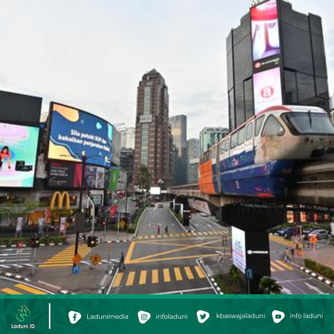 Gelombang Covid 19 Mengganas, Malaysia Lockdown Ketat
