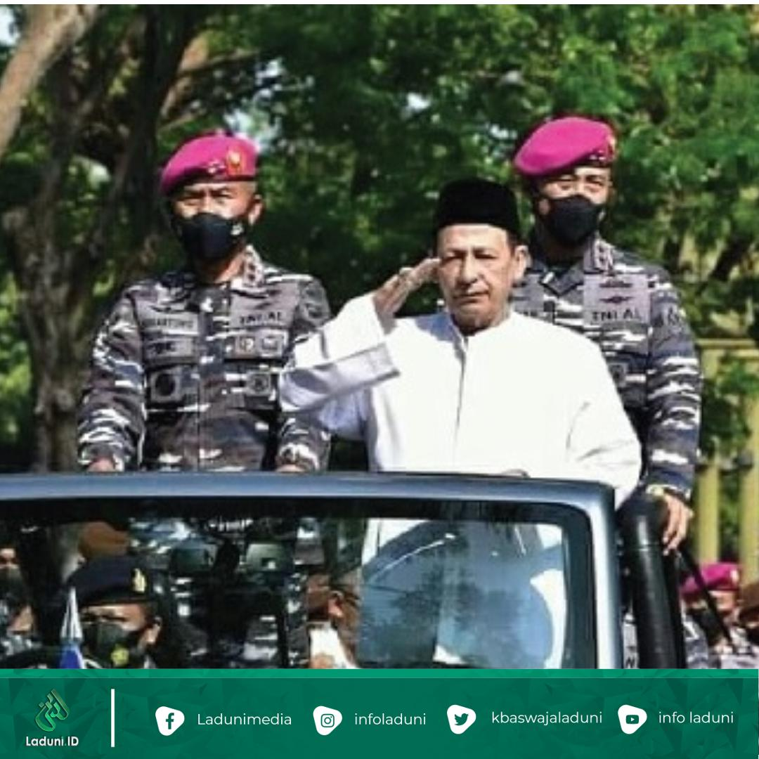 Habib Luthfi Beri Pembekalan Prajurit TNI AL Di Surabaya
