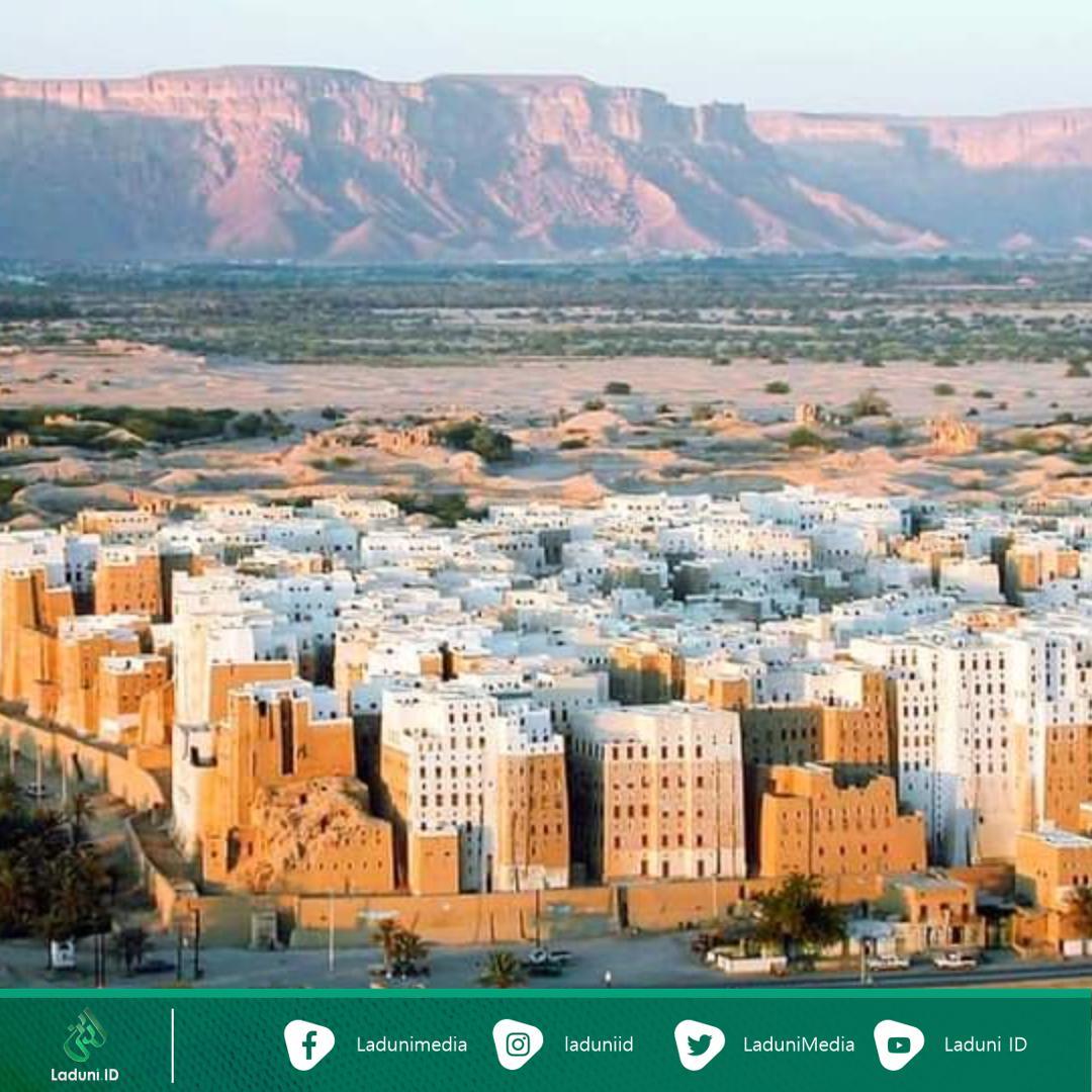 Hadramaut Yaman Kota Pencakar Langit Tertua di Dunia dari Tanah Liat