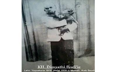 Biografi KH. Dimyathi Syafi'e
