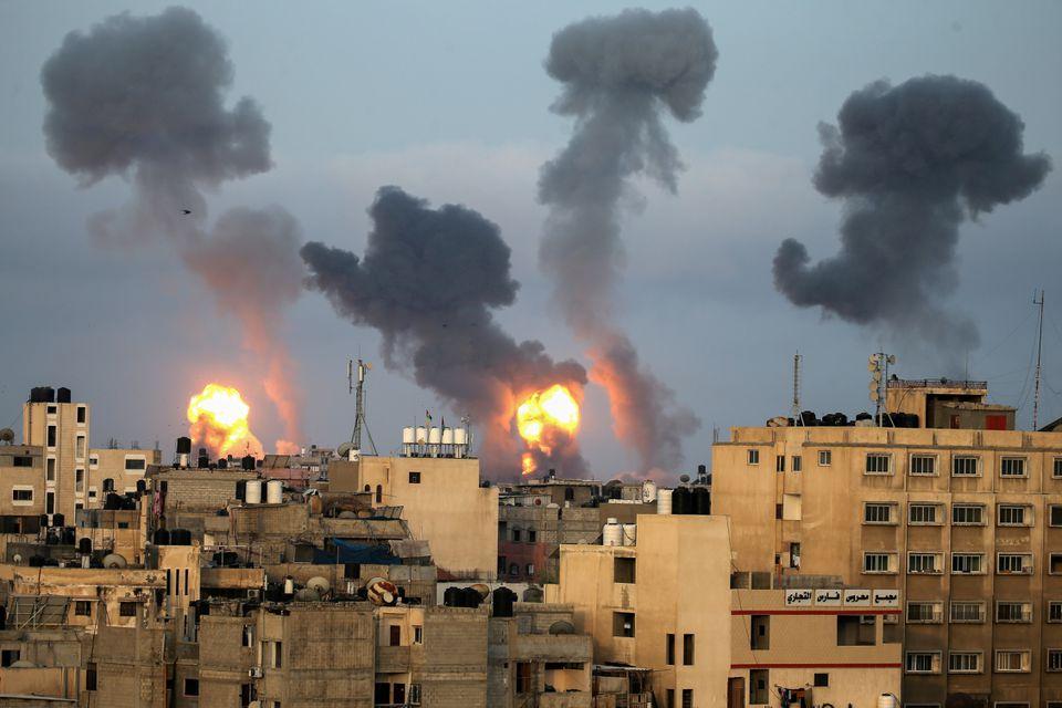 Korban tewas meningkat saat kekerasan mengguncang Gaza, Israel, dan Tepi Barat