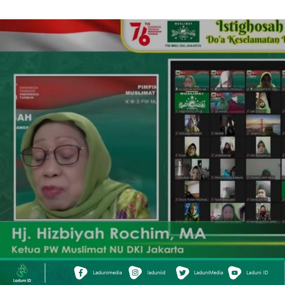 Spirit Muharram dan Kemerdekaan, Muslimat NU DKI Ajak Masyarakat Doakan Bangsa Indonesia